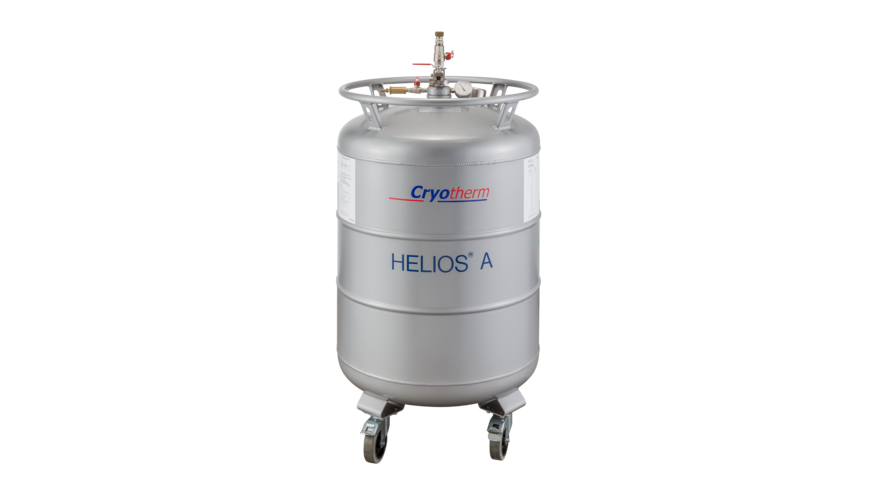 Liquid helium: Storage & transport with our products ...