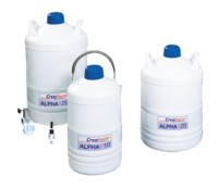 BIOSAFE® Alpha - Pressureless container series for small amounts of nitrogen. - img0